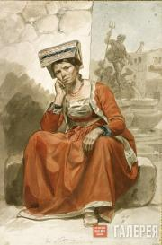 Italian Woman from Nettuno. 1828-1829