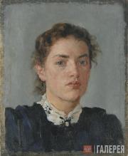 Serov Valentin. Portrait of Nadezhda von Derviz. 1888
