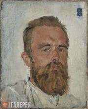 Serov Valentin. Portrait of Vladimir von Derviz. 1888