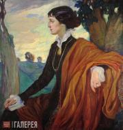 Делла-Вос-Кардовская Ольга. Портрет А.А. Ахматовой. 1914
