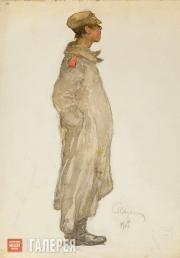 Вахрамеев Александр. Солдат. 1917