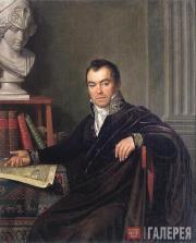 Ivan Bugaevsky-Blagodarny. Portrait of the Artist Andrei Ivanov