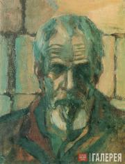 Andronov Nikolai. Self-Portrait. 1983