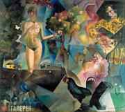 Yury ANNENKOV. Adam and Eve. 1912