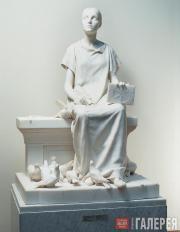 Антокольский Марк. Не от мира сего (Христианская мученица). 1887