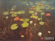 Levitan Isaaс. Water Lilies. 1895