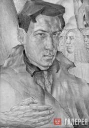Zaltsman Pavel. Self-Portrait. 1929