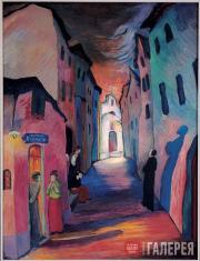 Werefkin Marianne. Ave Maria. 1927