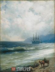 Ivan AIVAZOVSKY. The Tide. 1870s