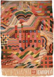 Gunta STЕLZL. Slit Tapestry Red-Green. 1927-1928