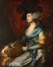 Gainsborough Thomas. Mrs Siddons (Sarah Siddons). 1785