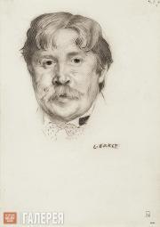 Léon Bakst. Portrait of Alexander Golovin. 1908
