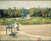 С.А.Виноградов. В усадьбе. 1910-e