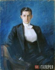 Bakst Léon. Portrait of Dmitry Filosofov. 1897