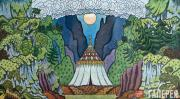 Ivan BILIBIN. The Tent of the Queen of Shemakha