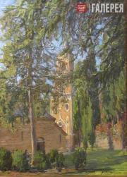 John Wurdeman. Bodbe Monastery's Yard. 2011