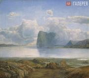 Lars HERTERVIG. The Island of Borgøya. 1867