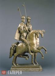 Tsigal Alexander. Boris and Gleb Riding Horses - The First Russian Saints. 1989
