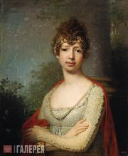 Vladimir  Borovikovsky. Portrait of Great Princess Maria Pavlovna. 1804