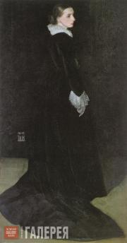 Whistler James McNeill. Arrangement in Black, No. 2: Portrait of Mrs. Louis Huth
