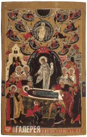 Неизвестный художник. Успение Богоматери. 1660