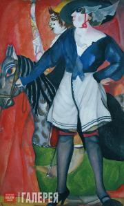 Grigoriev Boris. Circus Artiste. 1917-1918