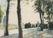 ALEXANDER BENOIS. At Versailles. 1936