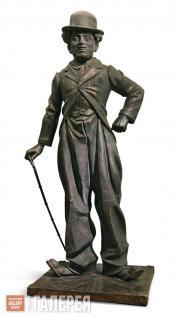 Tsereteli Zurab. Monument to Charlie Chaplin. 2005