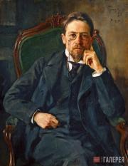 О.Э. БРАЗ. Портрет А.П. Чехова. 1898
