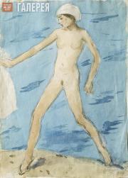 Chernyshev Nikolai. Running off the Water. 1927