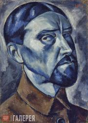 Chernyshev Nikolai. Self-portrait. 1921