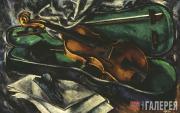 Chernyshev Nikolai. A Violin in a Case. 1919