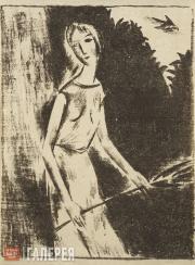 Chernyshev Nikolai. Muse. 1921