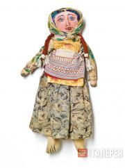 Кукла с разрисованным лицом. Не датирована