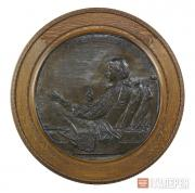 Saint-Gaudens Augustus. Robert Louis Stevenson. 1887–1888
