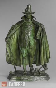 Saint-Gaudens Augustus. The Puritan. 1883–1886