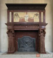 Saint-Gaudens Augustus. Vanderbilt Mantelpiece