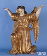 Неизвестный художник. Ангел коленопреклоненный. Рубеж XVIII–XIX вв.