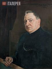 Вербов Михаил. Портрет Александра Ивановича Сумбатова-Южина. 1922