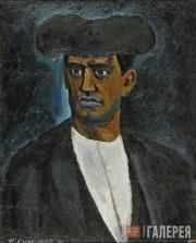 Konchalovsky Pyotr. Bull Fighter Manuel Garta (Garcia). 1910