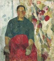 Vera V. Favorskaya. Portrait of a Woman. 1922