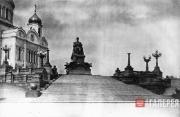 Opekushin Alexander. Monument to Alexander III in Moscow.