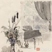 Yakunchikova Maria. Grand Piano by the Window