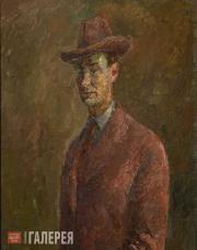 Falk Robert. Self-Portrait. Brittany. 1934