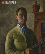 Falk Robert. Self-portrait in Yellow. 1924