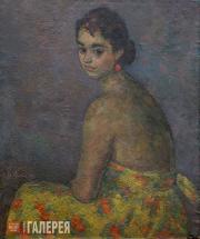 Falk Robert. Portrait of Olga Severtseva. 1950-1951