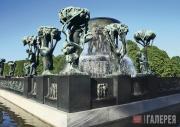Вигеланн Густав. Фонтан в парке Вигеланна