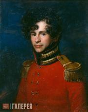 Carl Christian Vogel Von Vogelstein. Portrait of Ivan Leontyev. No later than 18