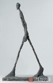 Giacometti Alberto. Man Walking II. 1960
