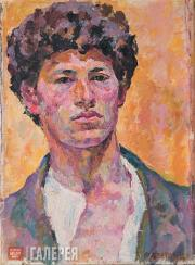Giacometti Alberto. Self-portrait. 1920